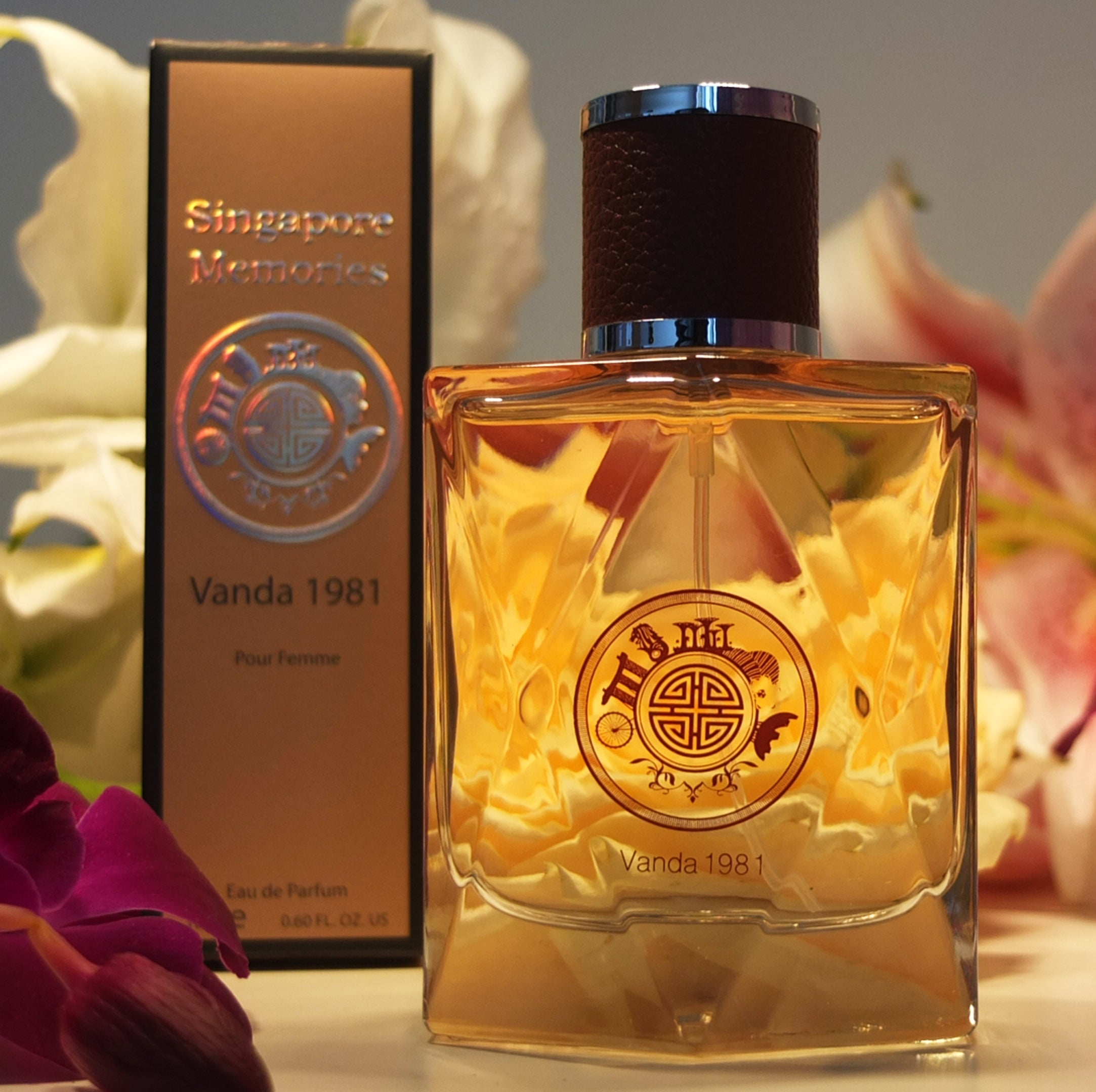Perfume Singapore Collections Online : Singapore Memories , Vanda 1981 , Orchid smell of Vanda Miss Joaquim