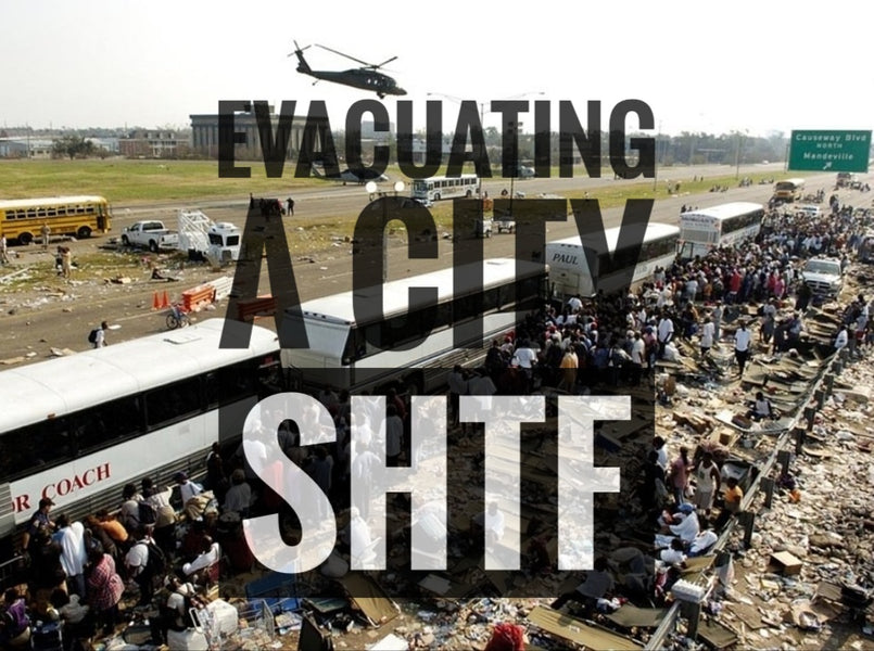 5 Bugout Tips for a SHTF Citywide Evacuation.