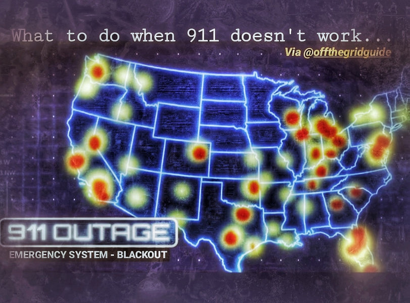 911 Blackout - Initial response when those 3 numbers don't work.