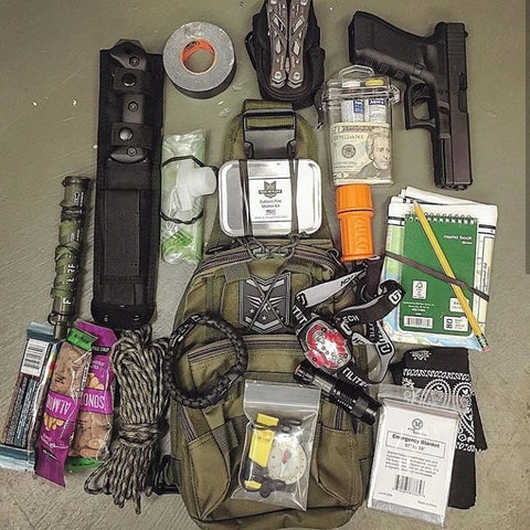 Bug Out Bag guide and layout for BOB