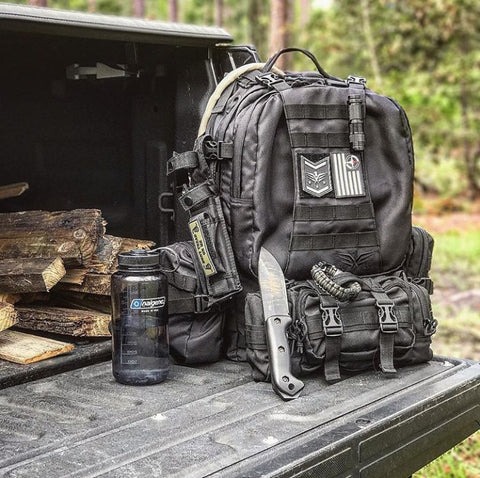 Bug Out Bag 72 hour pack for 3 day survival
