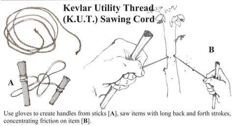 Kevlar Sawing Utility Thread