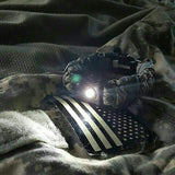 flashlight paracord bracelet