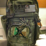 bug out bag green