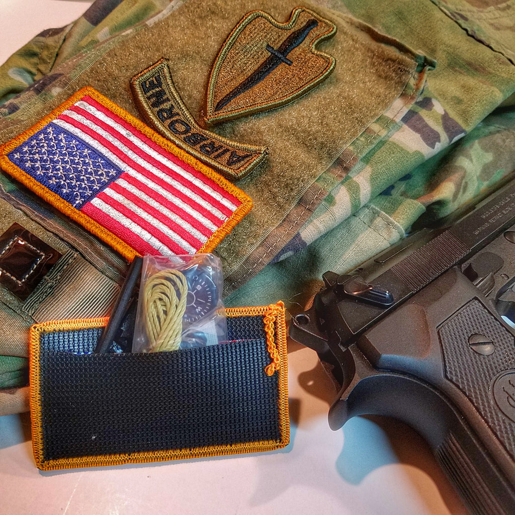 Sere Patch Kit Covert Military Kit For Survive Evade