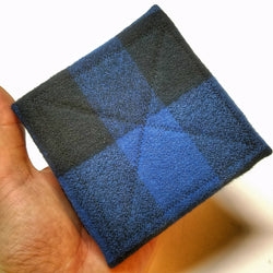Filter Bandana folded showing just the filter square area.