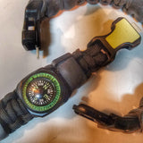 Expeditious Band- Quick Deploy SERE, Hunting, and EDC Survival Bracelet.