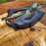 Superesse Reflective Drop Kit- Ripstop, Brass Zippered, Rescue Duffle Bag for EDC, Travel, and Camp.