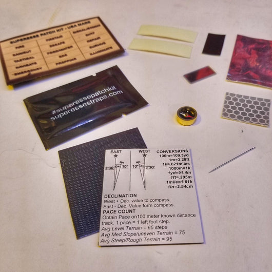 Signal/Navigation Patch Kit: comms signaling surfaces, friendly fire identification, and navigation
