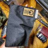 Tactical Tissue: Morale Patch compatible Ripstop stitched hank with covert storage pocket.