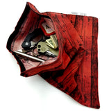 EDC Hank - Pocket Dump Storage Compartment Handkerchief w/ Velcro Closure.