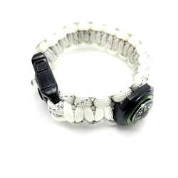 Marathoner Strap - Running Reflective and Glow Safety Paracord Bracelet