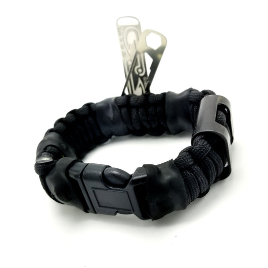 Task Strap - Multitool Paracord Bracelet with EDC Tool Sets and Survival Equipment.