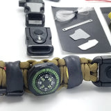 survival kit paracord bracelet