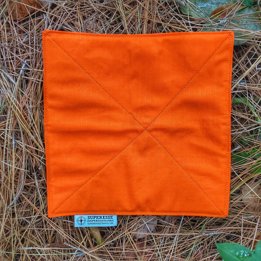 Filter Bandana: Water Pre-Filtration and Air-Contaminant Face Barrier.
