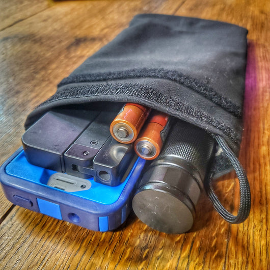 Faraday Go Pouch - Mini EDC Bag shielded by Faraday Cage Ripstop Fabric