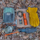 Camp Rag: Burn Proof Work Cloth built from Durable Kevlar Fabric w/ Lanyard Grommet.