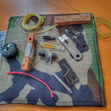 Fatwood Lanyard Kit: Emergency Kindling and Tinder Survival Necklace with firestarter.