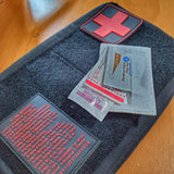 "Storage Pocket Patch:  ""Stop the Bleed"" and ""CPR"" Quick Reference"