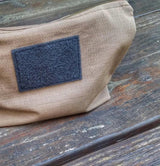 Scout Pouch Ripstop - Zippered Bag for EDC essentials and supplies.