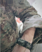 SERE Sidekick- Tactical Survival Paracord Bracelet to Evade, Resist & Escape.