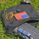 Canvas Scout Pouch - Durable Water Resistant Pouch