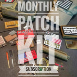 Patch Kit of the Month- Subscription Plan, survival/tactical morale patch & micro kit monthly
