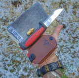 Saw Shemagh: Firestarter sewn button, built-in Kevlar Utility Saw, Fire Tinder border.
