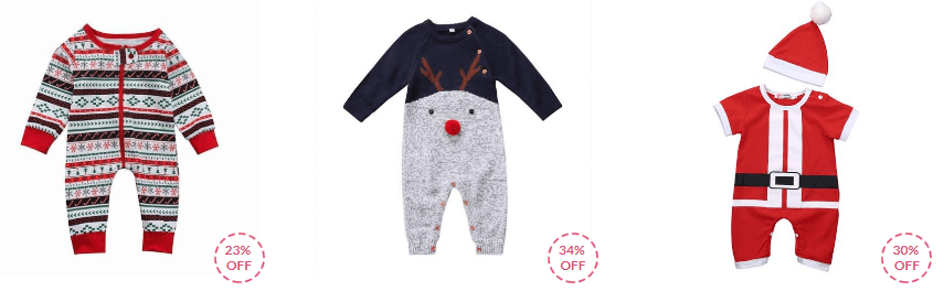 christmas baby clothes collection