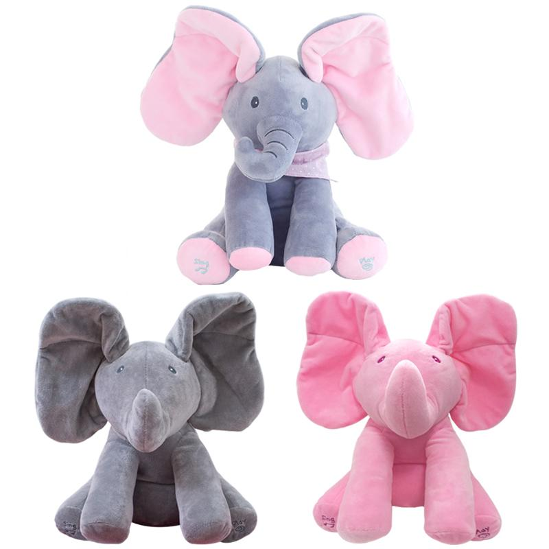 Peek-A-Boo | Singing Plush Elephant Doll