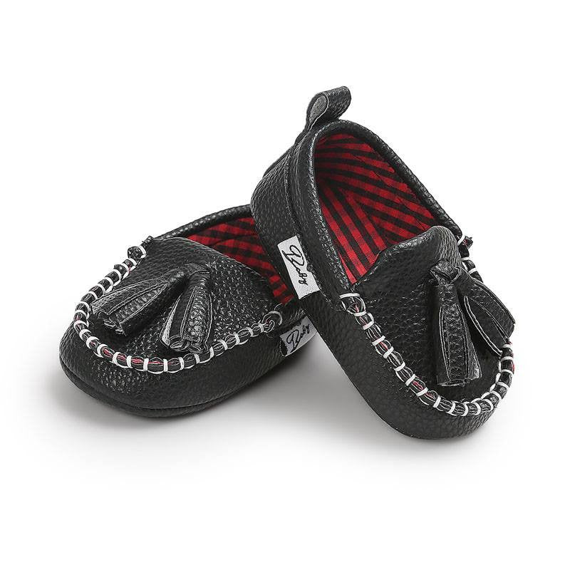 Elegant Leather Moccasins
