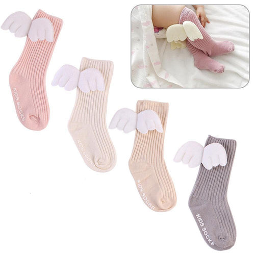 Angel Wings Baby Socks