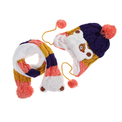 Winter Bear | Baby Hat + Scarf Set