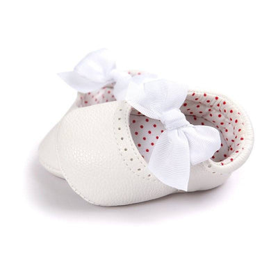 Delicate Polka Dot First Walkers
