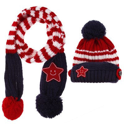 Winter Fashion | Baby Scarf+Hat Set