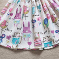 Lovely Graffiti Summer Dress
