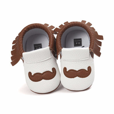 Cute Moustache Fashion First-Walkers