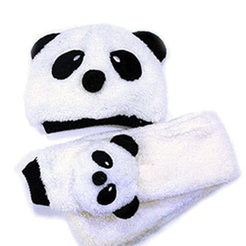 Panda Style | Warm Panda Hat + Match Scarf Set