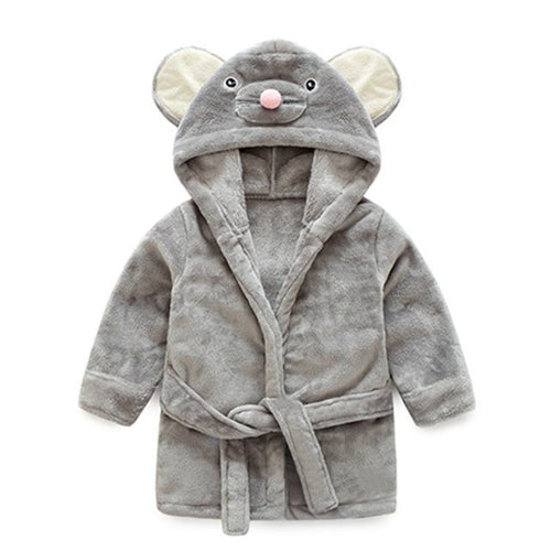 Soft Mouse | Cute Baby Bathrobe