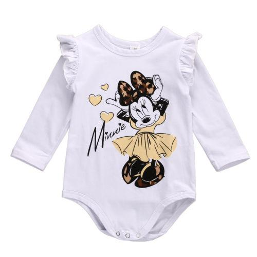 Lovely Minnie Mouse Bodysuit