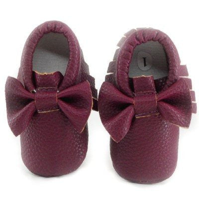 Adorable Bowknot Moccasins