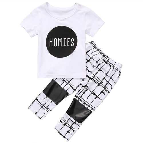 Lovely Homies Short Sleeve Set