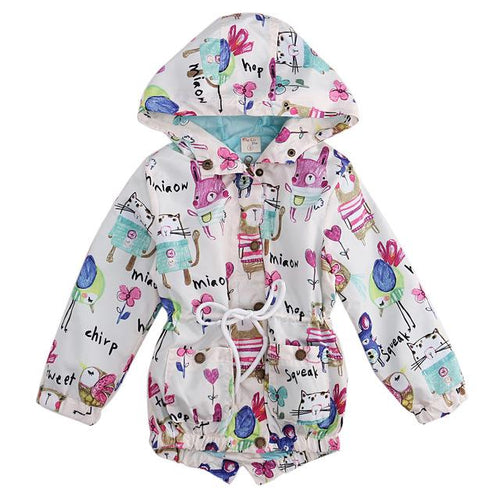 Cute & Stylish Graffiti Jacket