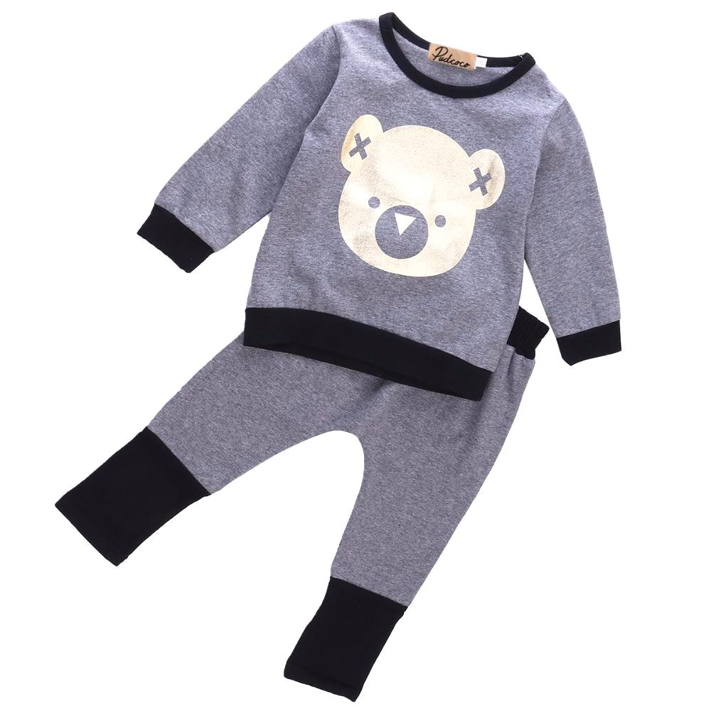 Casual Teddy Bear Comfy Set