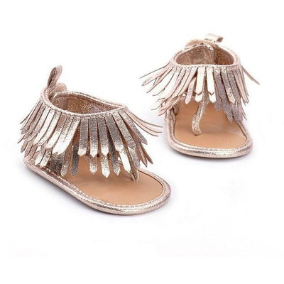 Fancy Tassel Sandals