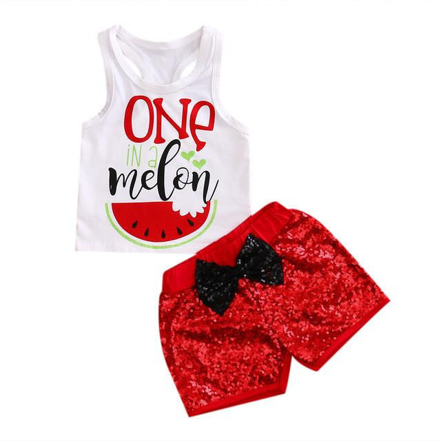Stylish Watermelon Summer Set
