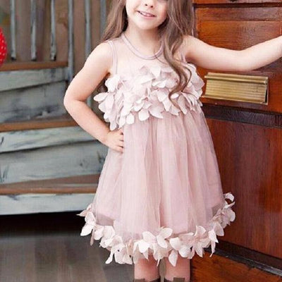 Elegant Princess Sleeveless Dress