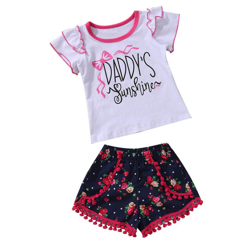 Cute Daddy's Sunshine Summer Set