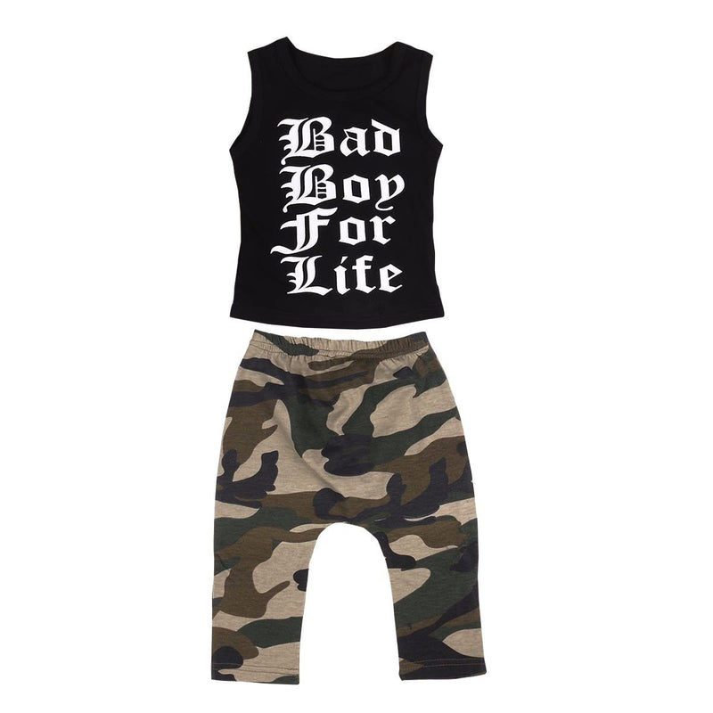 Bad Boy Camouflage Summer Set