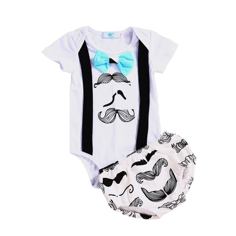 Short Sleeve Moustache Set